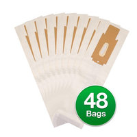 Replacement Type CC Vacuum Bags For Oreck XL2330RS 2000 Upright Series Vacuums - 48 Count