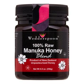 Wedderspoon 100% Raw Manuka Honey Blend, 8.8 Oz