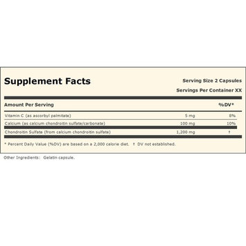 Chondroitin Sulfate 1200 180 Capsules