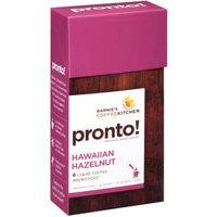 Barney's Coffee Kitchen Pronto! Personal Brew Coffee Hawaiian Hazelnut - 6 Packets