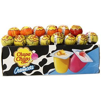 Euro-american Brands Chupa Chups Cremosa Lollipops 48 Count Tray