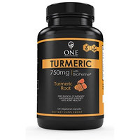 Turmeric Curcumin with Bioperine 1500mg. 120 Caps Maximum Potency, Natural Arthritis, Joint Support, Anti-Inflammatory Supplement with Black Pepper Extract for Higher Absorption