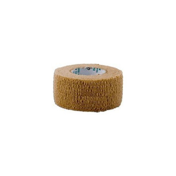 ReliaMed Self Adherent Elastic Bandage, Tan, 1