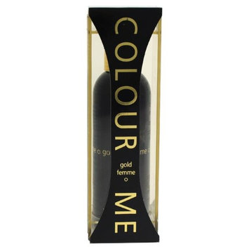 Colour Me Femme Gold Eau de Parfum Spray 100ml With Gift