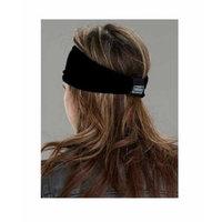 That's A Wrap Women's Foil Bandana Black Paisley Knotty Band, Black KB1624