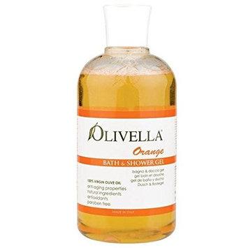2 Packs of Olivella Orange Bath And Shower Gel