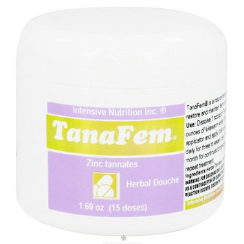 Intensive Nutrition, Inc. - TanaFem Herbal Douche - 1.69 oz.