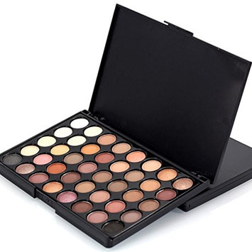 Eyeshadow Palette, Featurestop 40 Color Natural Eyeshadow Cream Makeup Palette Set(Matte,Shimmer) (# A)