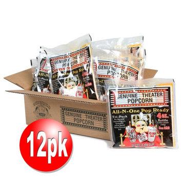 Superior Popcorn Company Superior 4 Ounce Premium Popcorn 4 oz. Portion Packs, Case of 12