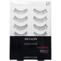 Pacific World Revlon Volumize Eyelashes Multi-Pack, 91158/V21, 4 pr