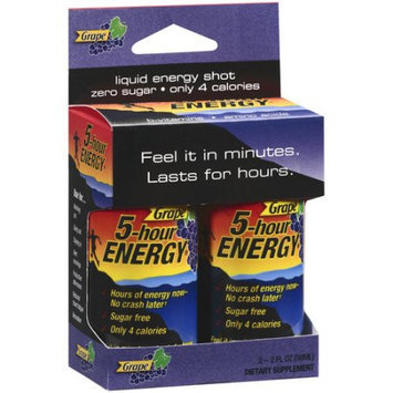 5 Hour Energy 5-Hour Energy Shot, Grape, 2 ea