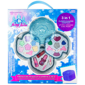 Princess Expressions Ice Fairy Tales 18-Piece Cosmetic Set