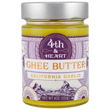 4th & Heart, Ghee Butter, California Garlic, 9 oz (225 g) [Flavor : California Garlic]