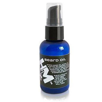 4HiM - vegan, natural, sandalwood & bergamot beard oil