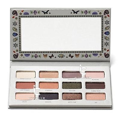 ICYCHEER Glamorous 12 Colors Shimmer Matte Eyeshadow Makeup Eye Shadow Palette Matt Smoky