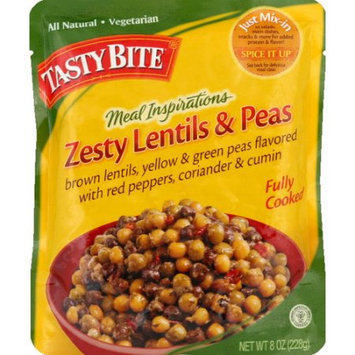 Tasty Bite Meal Inspirations Zesty Lentils & Peas, 8 oz (Pack of 6)