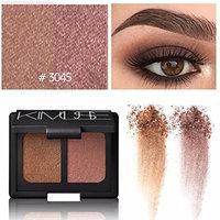 Vovomay Women's 10 Colors Best Pro Eyeshadow Palette,Shimmer +Matte -Waterproof-Long Lasting Stay- Warm Color Cream Eyeshadow Palette Set