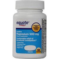 Equate Laxative Magnesium 500mg