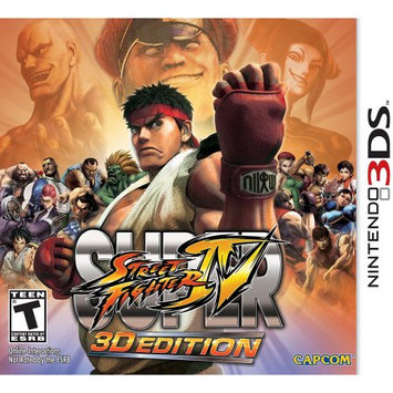 Nintendo Super Street Fighter IV 3D Edition 3DS (Email Delivery)