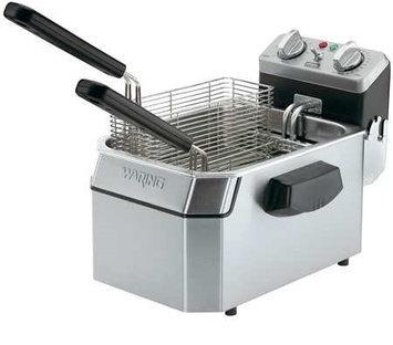 WARING COMMERCIAL WDF1000B Electric Deep Fryer,208V,10 Lb