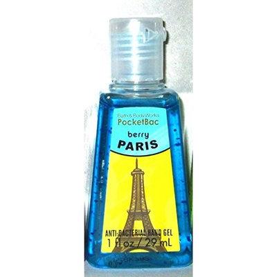 Bath & Body Works POCKETBAC BERRY PARIS ANTI-BACTERIAL HAND GEL 1 FL OZ BATH AND BODY WORKS
