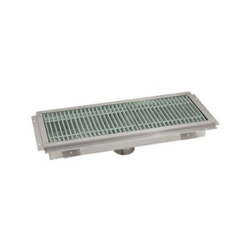 Advance Tabco Floor Trough with Grating
