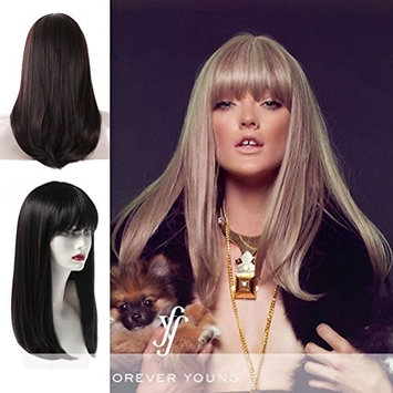 Forever Young (Perfect Silhouette) - Heat Resistant Fiber Full Wig in 8_12_24BHL