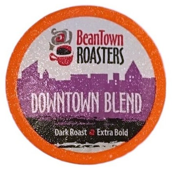 50 K-cup Downtown Blend Dark Roast Beantown Roasters Coffee for Keurig Brewers