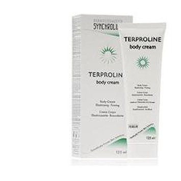 Terproline Body Cream 125ml. Cream for Scar Reduction and Skin Elasticity