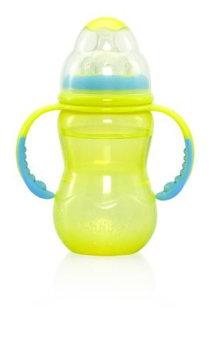 Nuby Wide Neck Bottle - 10 oz - Girl