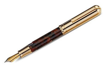 Waterford Beaumont Fountain Pen Tortoise