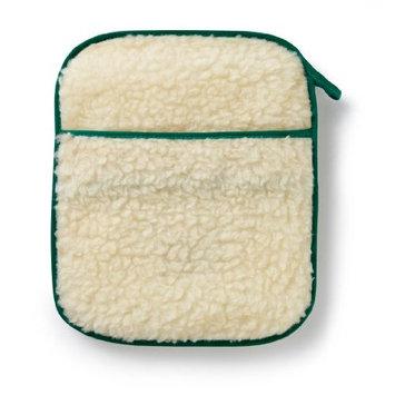 Hotties Microhottie Microwave Hot Water Bottle -lambswool Fleece - Cream