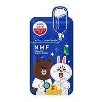 Mediheal Line Friends N.M.F Aquaring Ampoule Mask, 17.64 Ounce