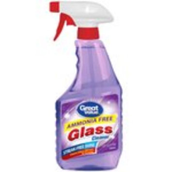 Great Value Ammonia Free Glass Cleaner, 32 fl oz