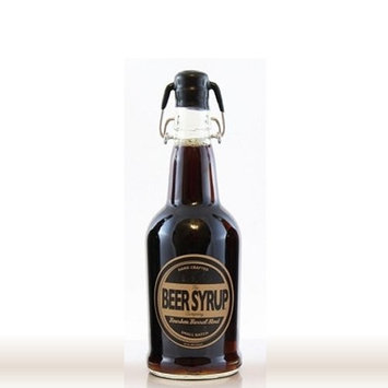 The Beer Syrup Company Bourbon Barrel Stout Beer Syrup, 18 oz - for Cocktails, Coffee, and Cooking - Handcrafted, Small Batch, Non-Alcoholic [Bourbon Barrel Stout]