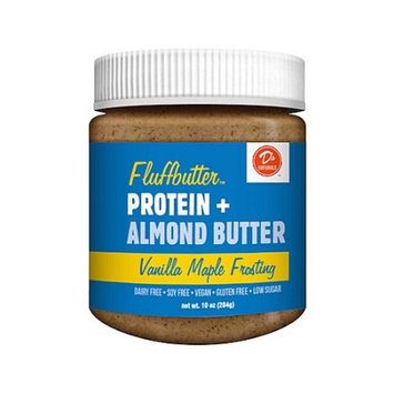 D's Naturals Fluffbutter, Vanilla Maple Frosting Almond Spread, 10 oz.
