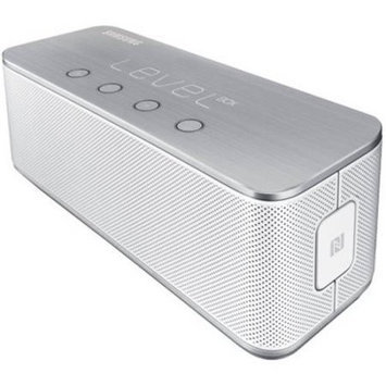 Samsung - Level Box Wireless Bluetooth Speaker - White