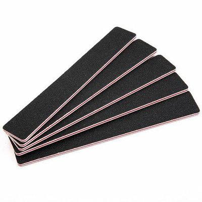 10 Pcs Square Black Sanding Nail File Stick Double Sided Nail Buffer Files Nail Art Tips Sanding Blocks Nail Manicure Tools