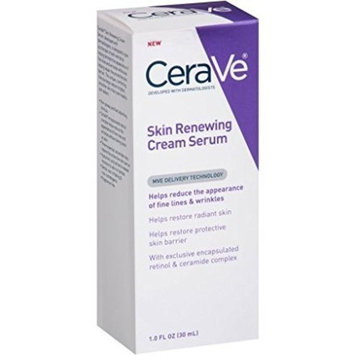 2 Pack Of CeraVe Skin Renewing Cream Serum, 1 fl oz ea