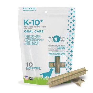 K-10+ Advanced Dental Sticks Oral Care Formula for Large Breed Dogs