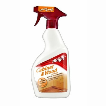 Magic Wood Cleaner and Polish - 24 Ounce - Use As Wood Furniture Cleaner, Wood Cabinet Degreaser, Wood Table Restorer, Wood Conditioner and Polish [1]