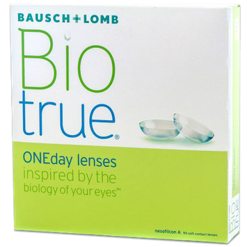 Purevision Biotrue ONEday (90 pack) Contact Lenses