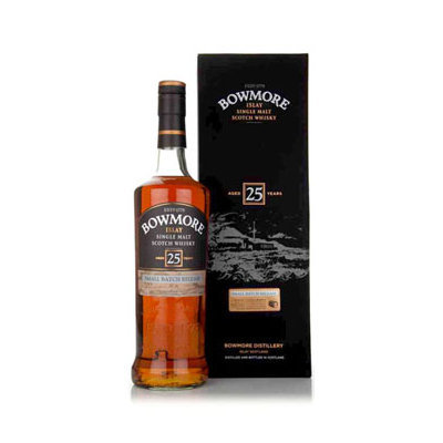 Bowmore Scotch Single Malt 25 Year Small Batch Release