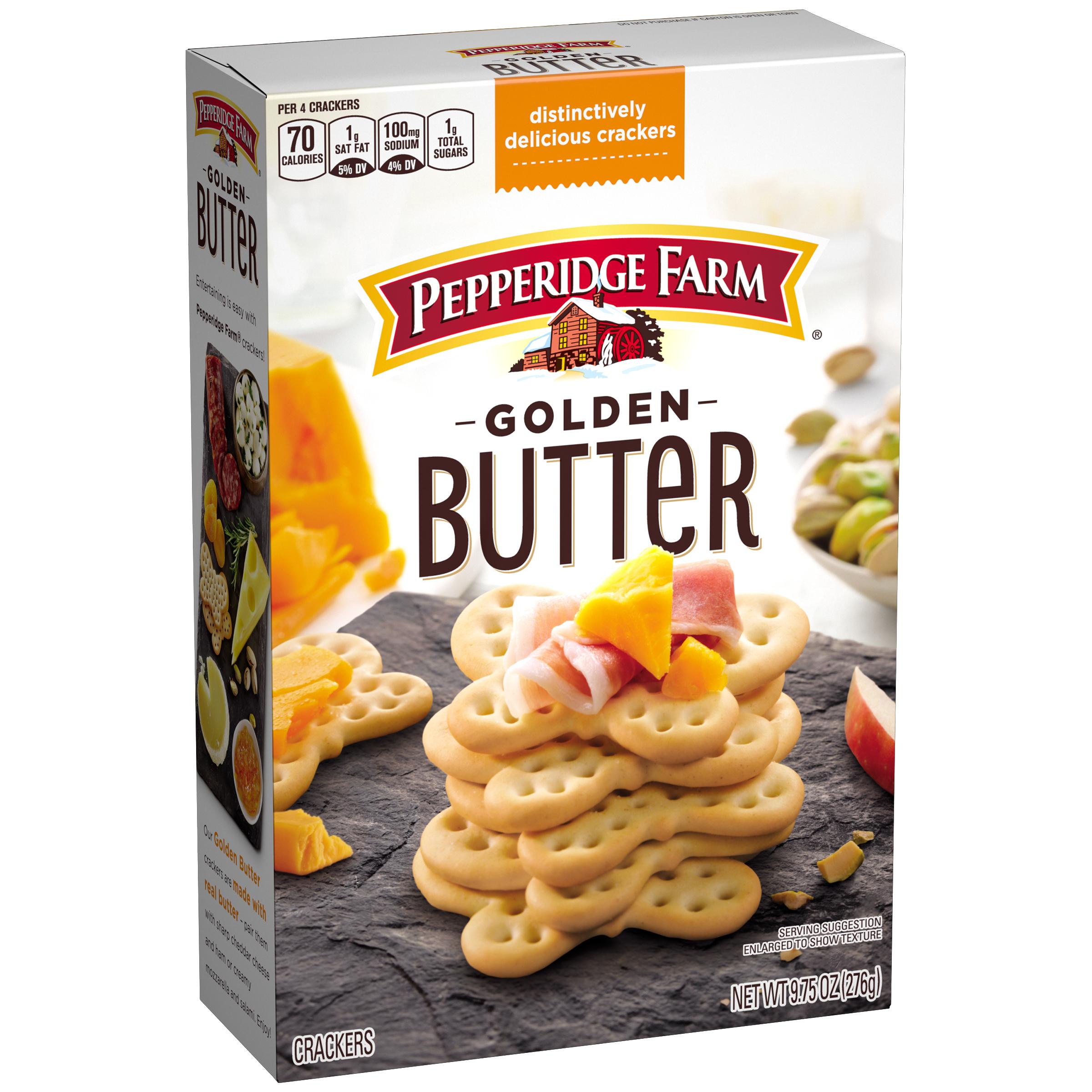 Pepperidge Farm® Golden Butter Crackers, 9.75 oz. Box