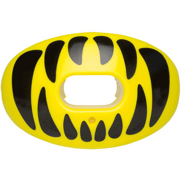 Battle Sports Science Predator Oxygen Lip Protector Mouthguard - Neon Yellow