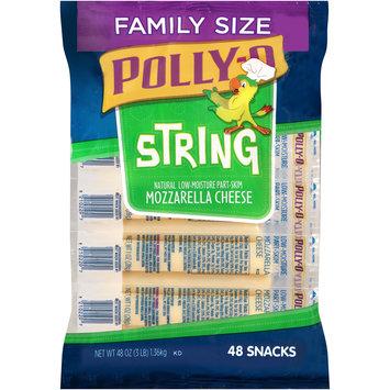 Polly-O Low-Moisture Part-Skim Mozzarella String Cheese
