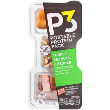 Oscar Mayer P3 Turkey, Cheddar & Peanuts Portable Protein Pack