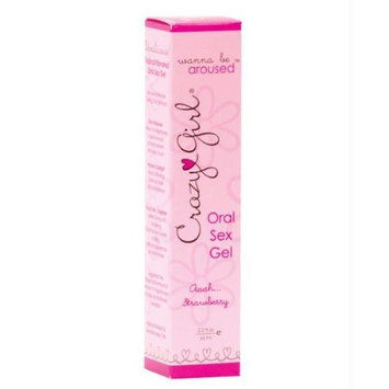 Classic Erotica Crazy Girl Wanna Be Aroused Oral Sex Gel, Aaaah Strawberry, 2.2 Fluid Ounce [Aaaah Strawberry]