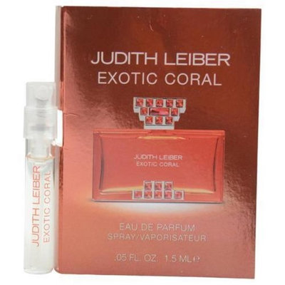Judith Leiber 289092 Judith Leiber Exotic Coral Eau De Parfum Spray Vial