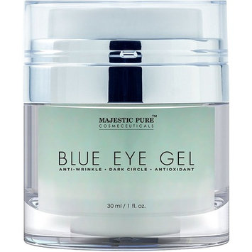 Majestic Pure Blue Eye Gel, Reduces the Appearances of Wrinkles and Dark Circles - Eye Cream Formula for Skin Tone and Resilience - 1.0 fl. oz.